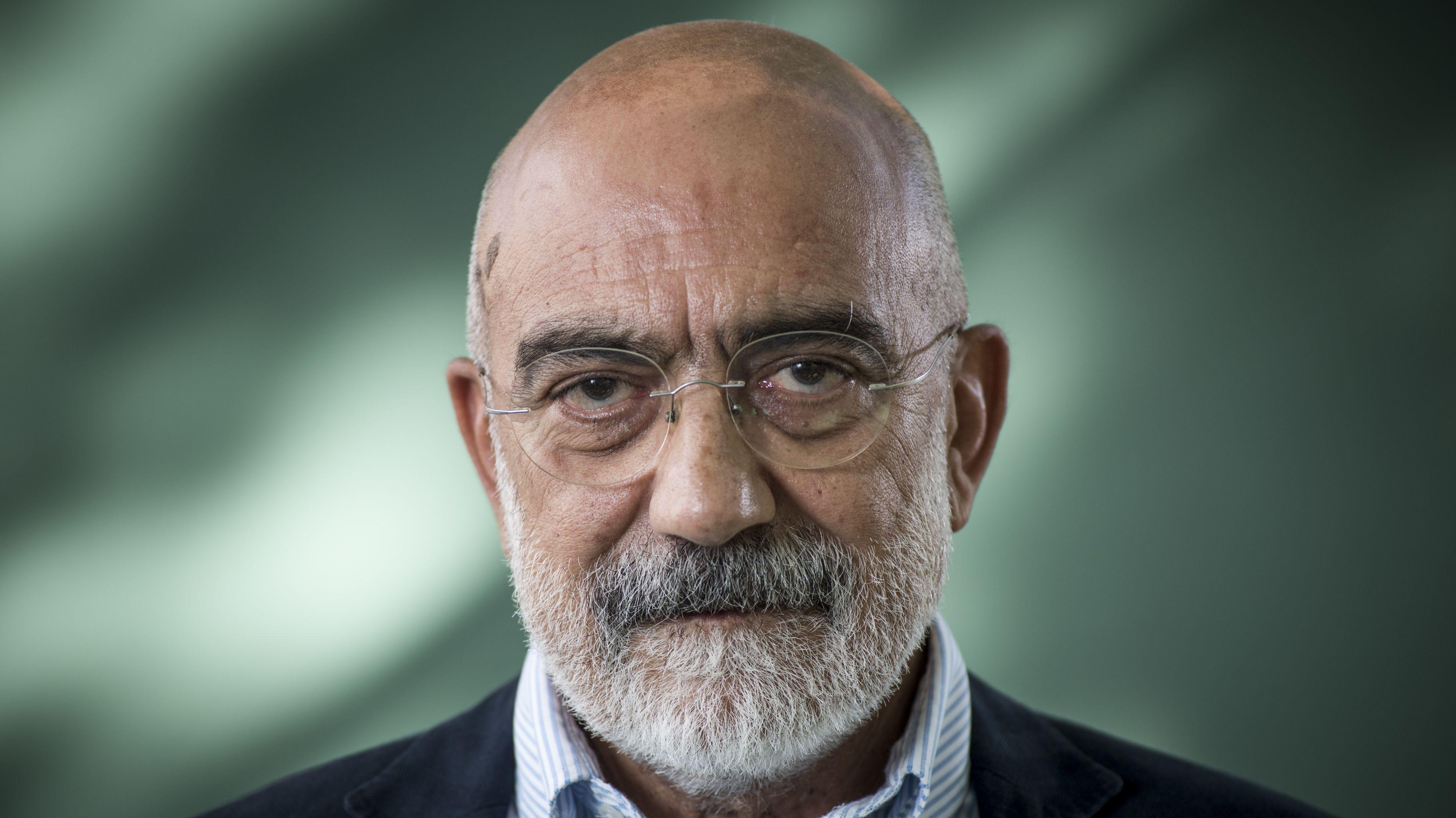 Der türkische Schriftsteller und Journalist Ahmet Altan