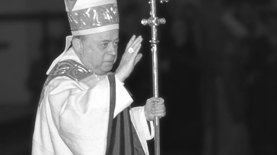 Paul-Werner Scheele in seiner aktiven Zeit als Bischof