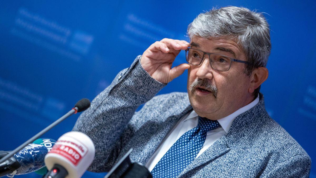 Mecklenburg-Vorpommerns Innenminister Caffier
