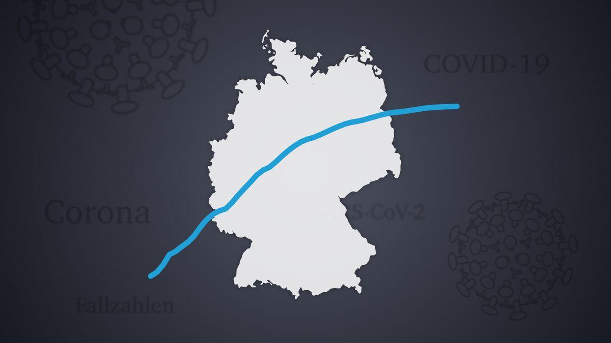 Symbolbild für Entwicklung der Corona-Fälle in Deutschland