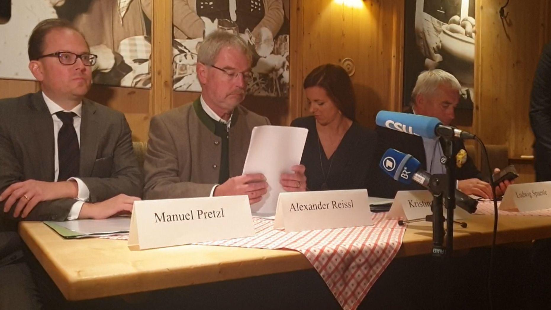 Alexander Reissl erklärt den Übertritt zur CSU-Fraktion