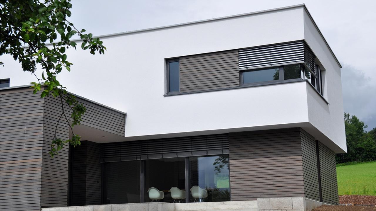 Hervorragend Traumhäuser : Ein Haus mit Flachdach CS31
