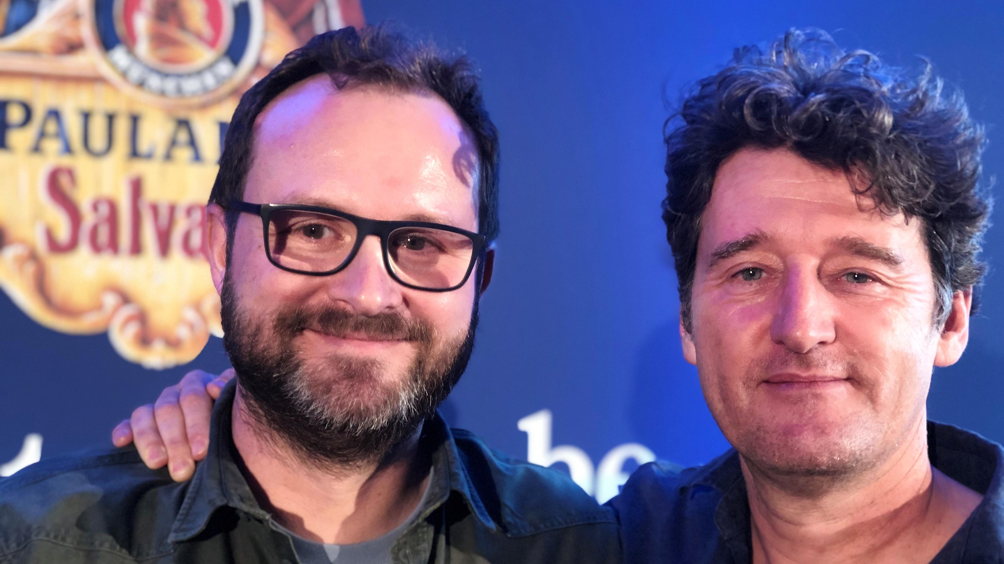 Die Singspiel-Autoren Stefan Betz und Richard Oehmann