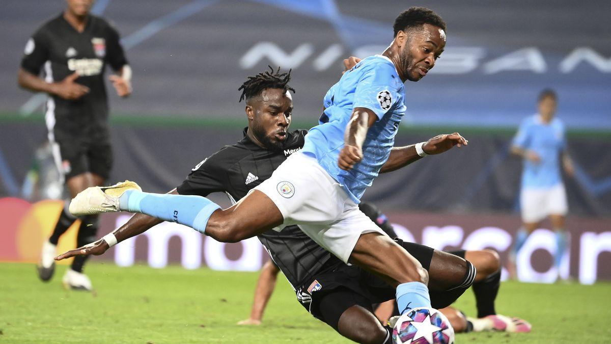 Spielszene Olympique Lyon - Manchester City