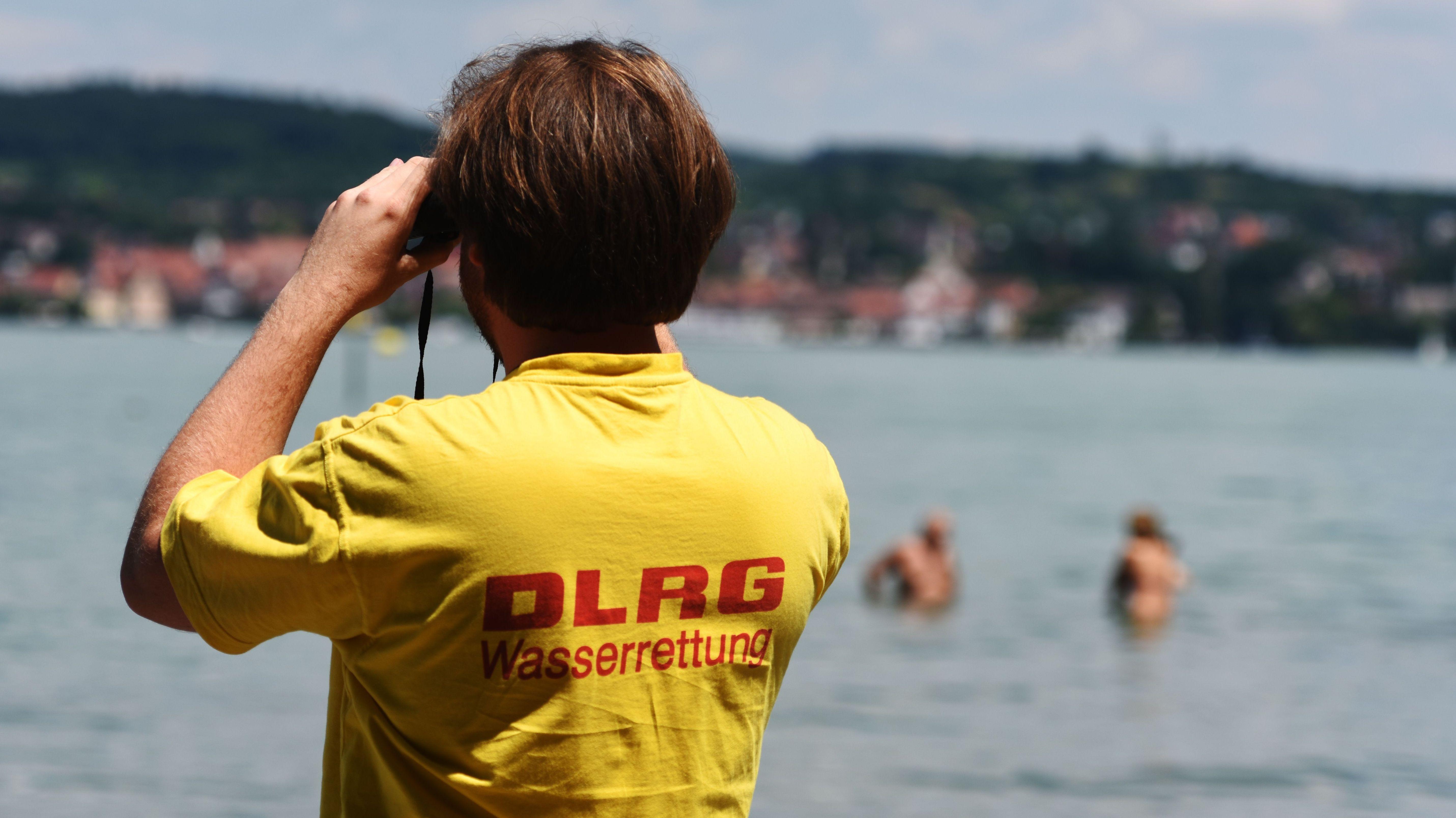 Wasserretter der DLRG am Bodensee