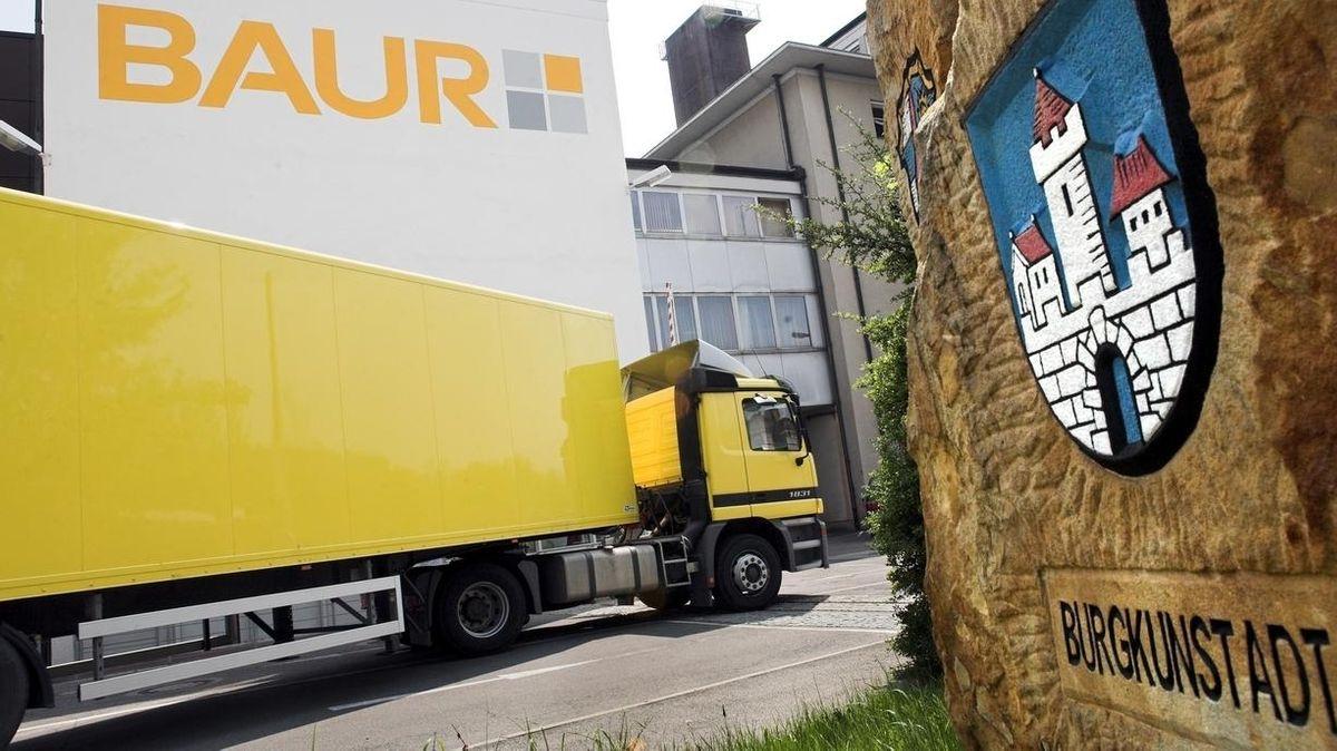 Blick auf den Firmensitz der Baur-Gruppe in Burgkunstadt.