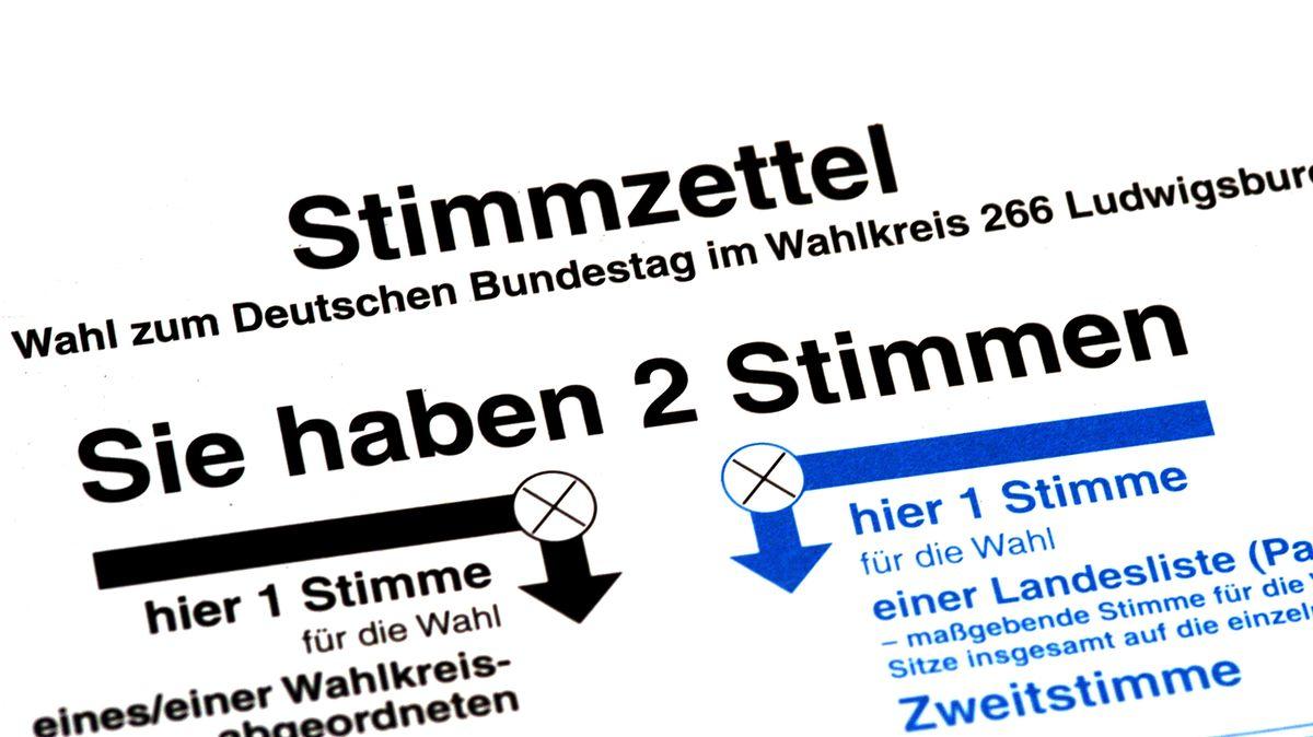 Bundestagswahl: Wie wählen wir?