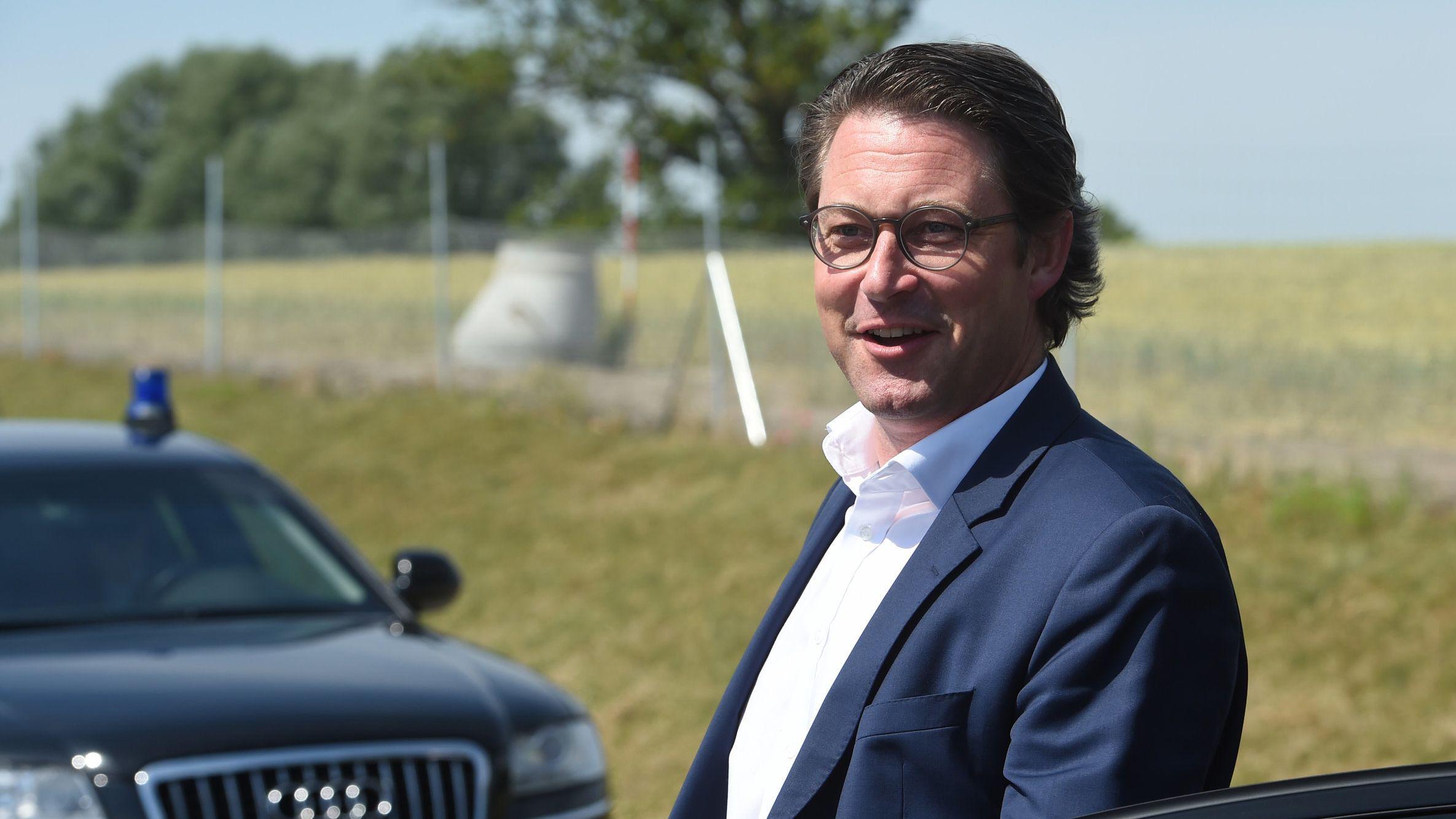 Bundesvekehrsminister Andreas Scheuer (CSU)