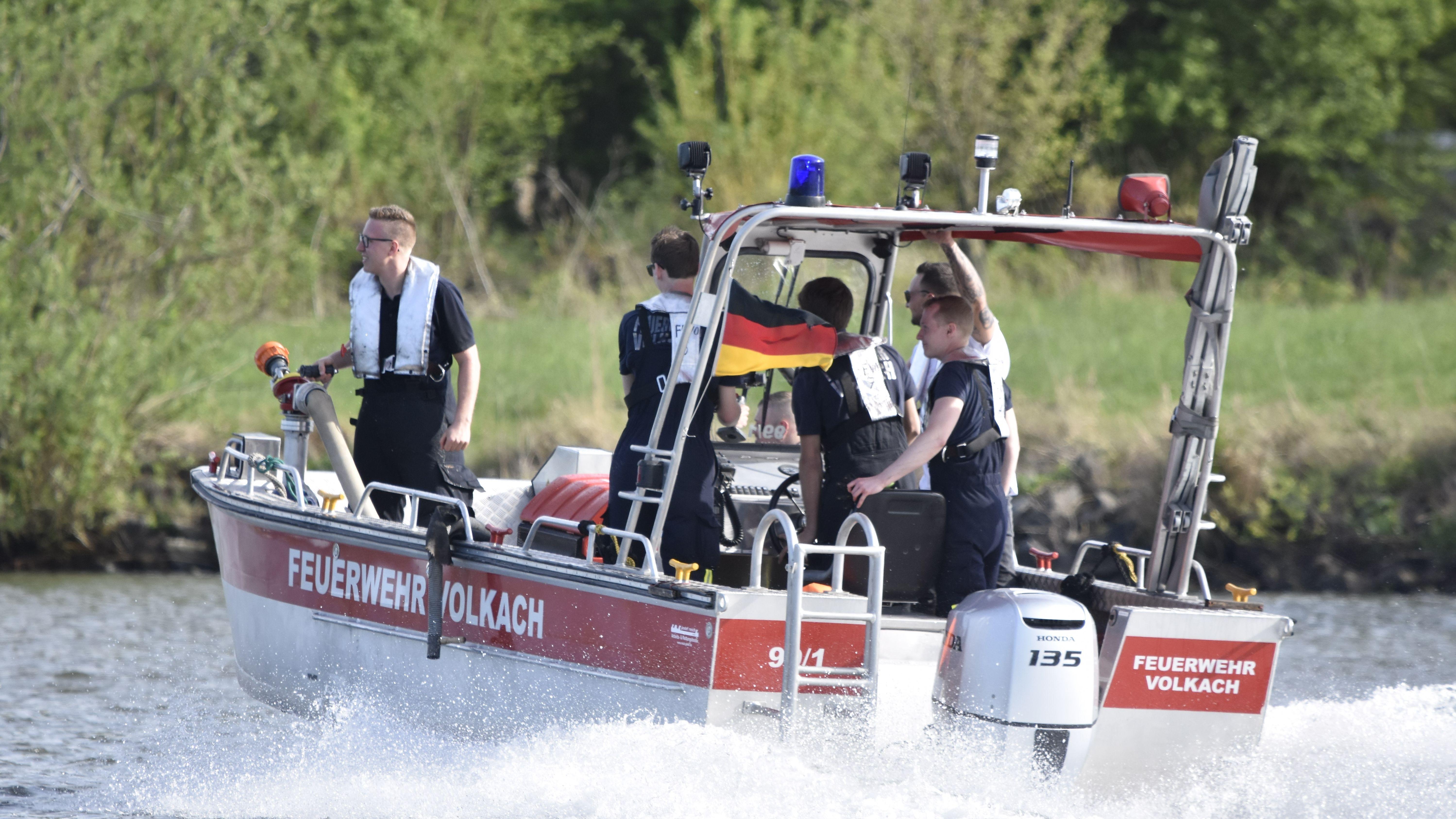 Gestürzte Seniorin nahe Volkach gerettet