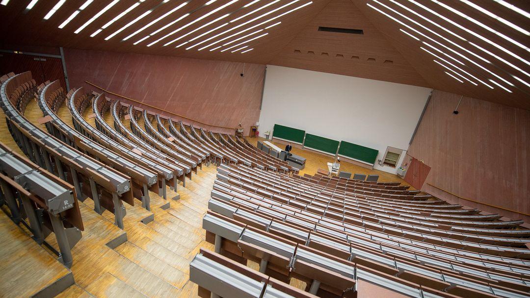 Symbolbild:  leerer Hörsaal