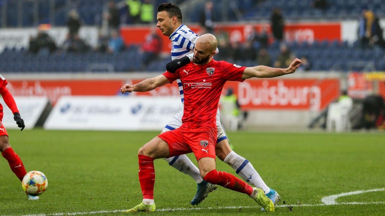 Ingolstadt verliert Rückrundenauftakt gegen Duisburg