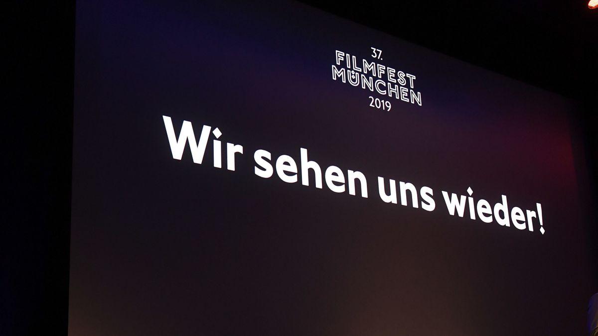 2019 schrieb Filmfest München bei der Preisverleihung, dass wir uns wieder sehen. Das ist jetzt 2020 nicht der Fall