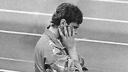 Im Bayernliga-Finale schwer verletzt, später dann beim FC Schweinfurt 05 auf der Trainerbank: Erwin Albert.