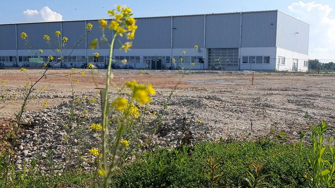 Die Asylbewerberunterkunft im Industriegebiet Plattling