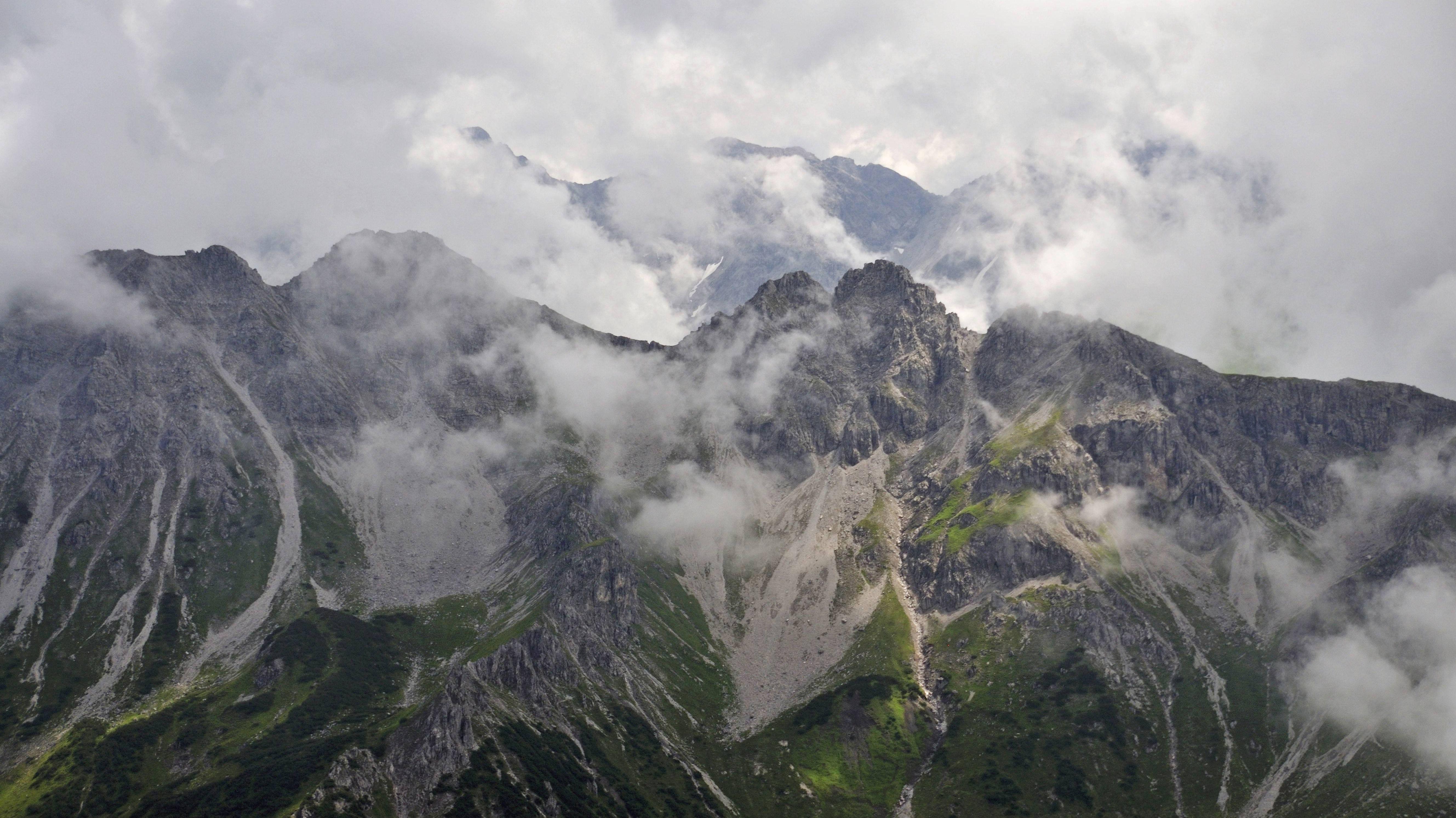 Grenzkamm zwischen Schafalpenkopf und Kanzelwand (Archivbild)