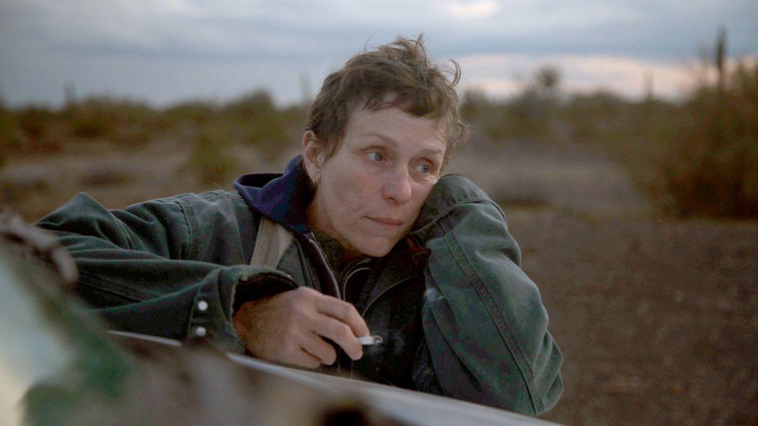 """Frances McDormand als Fern in einer Szene des Films """"Nomadland""""."""