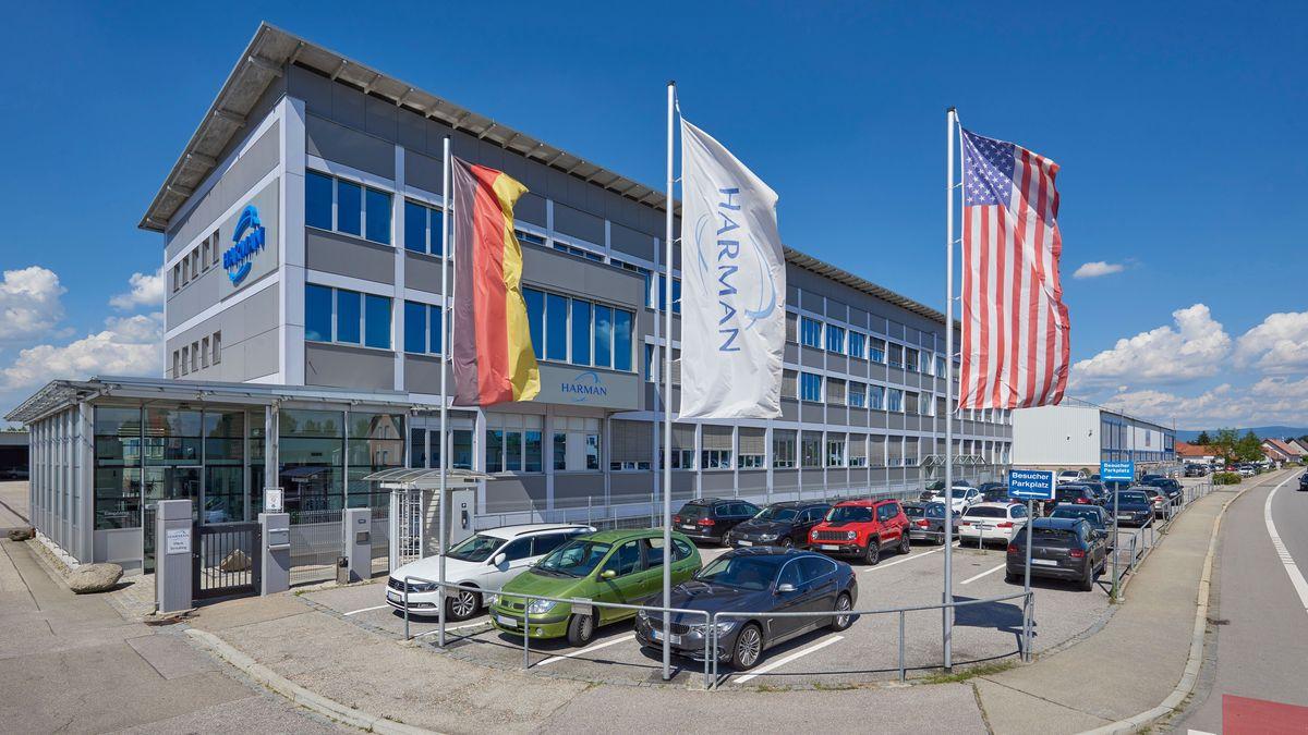Das Harman-Werk in Straubing