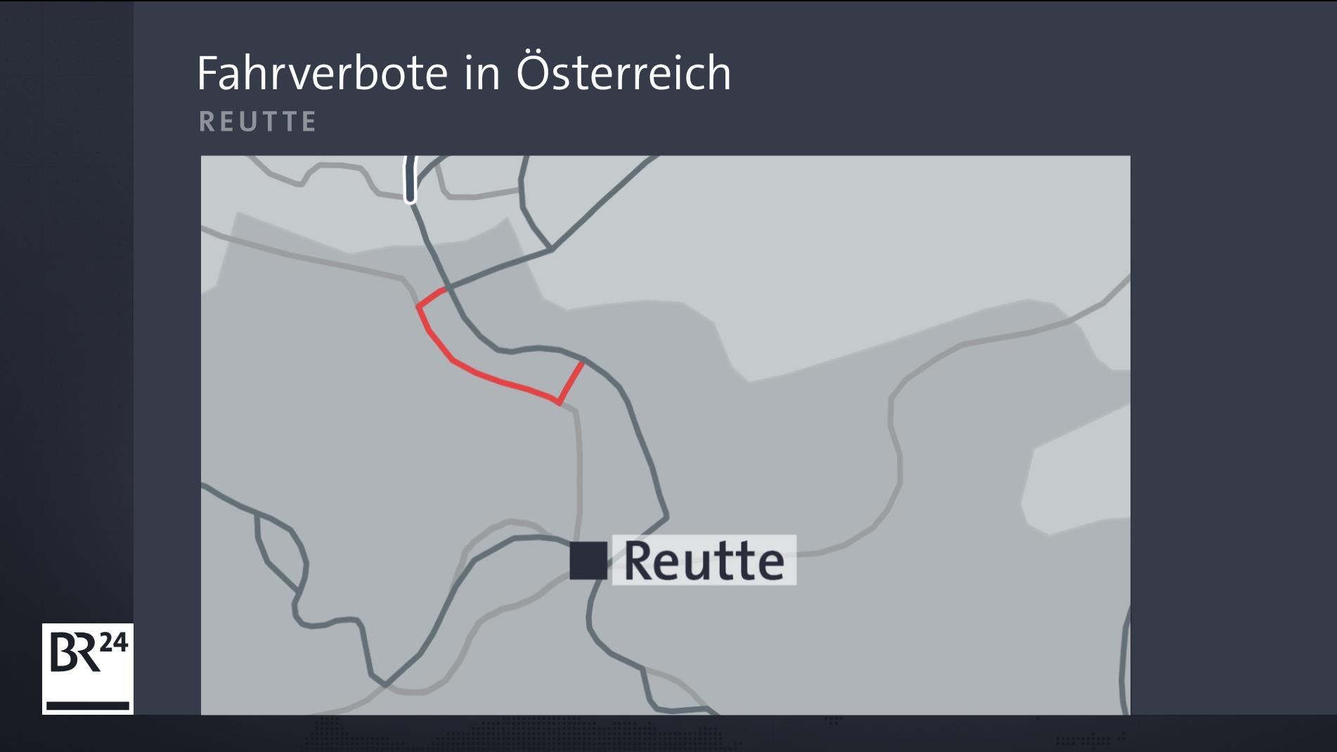 Neue Fahrverbote bei Reutte