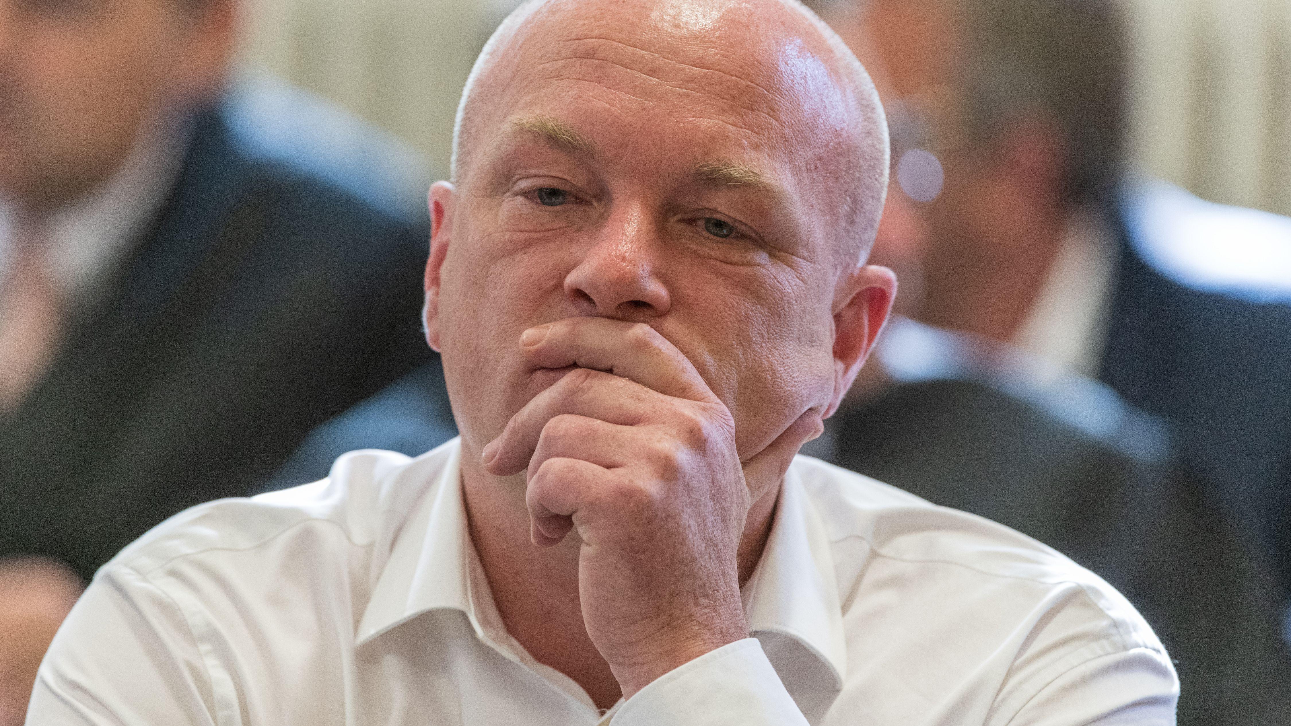 OB Wolbergs während der Urteilsverkündung im Gerichtssaal