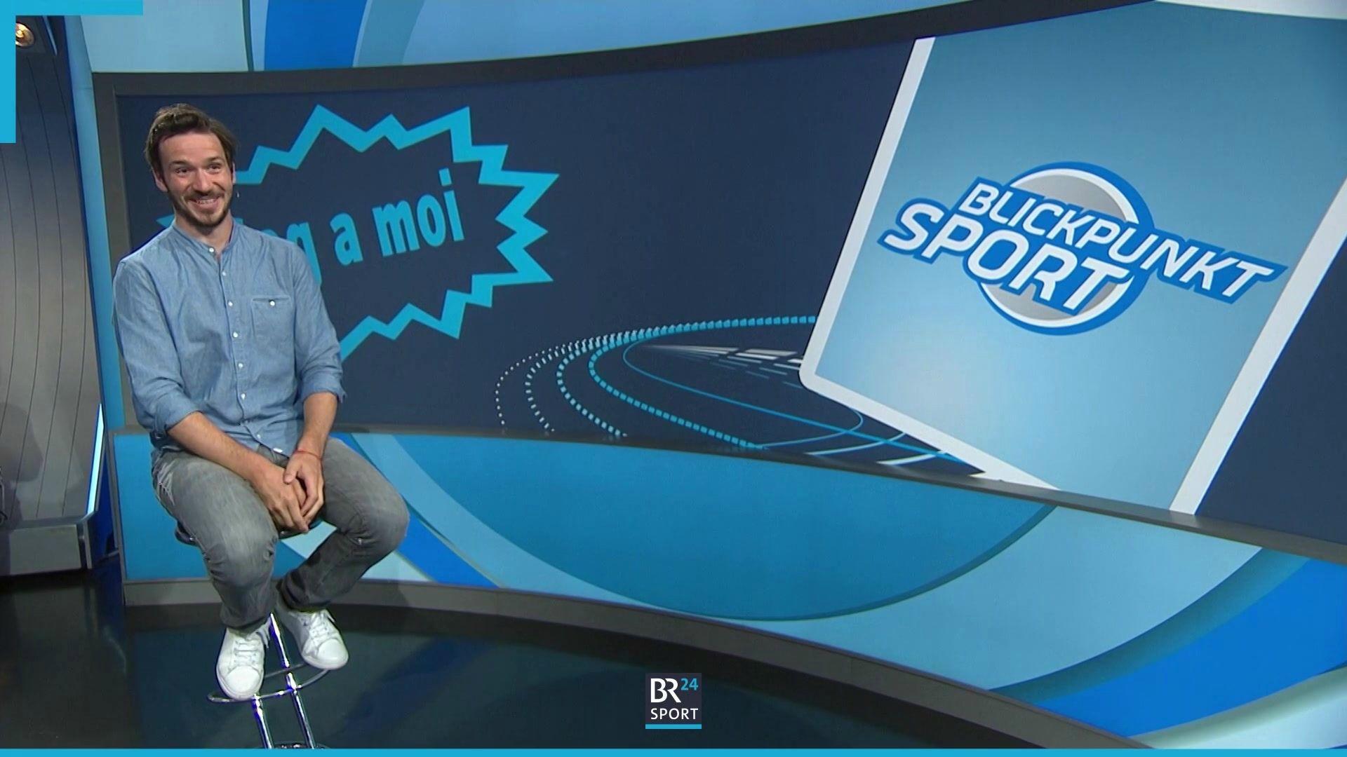 Felix Neureuther bei Blickpunkt Sport