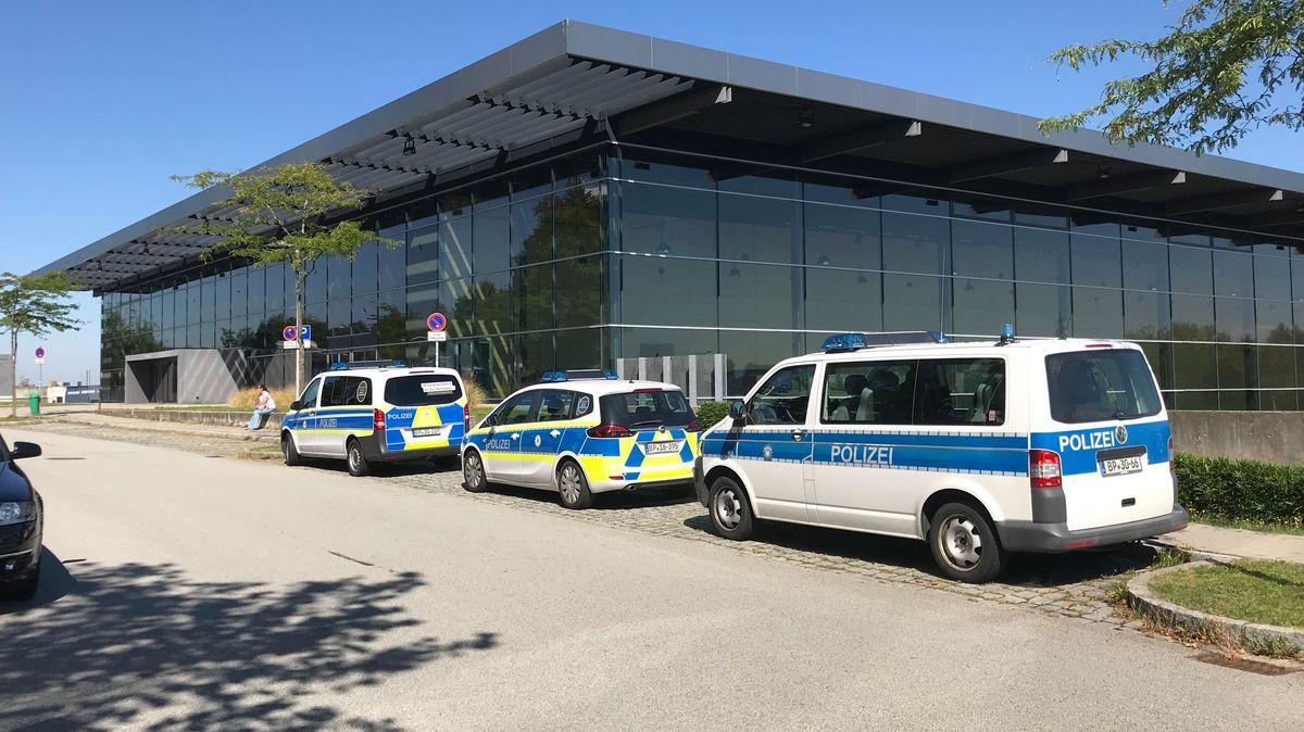 Die Dreiländerhalle im Messepark von Passau