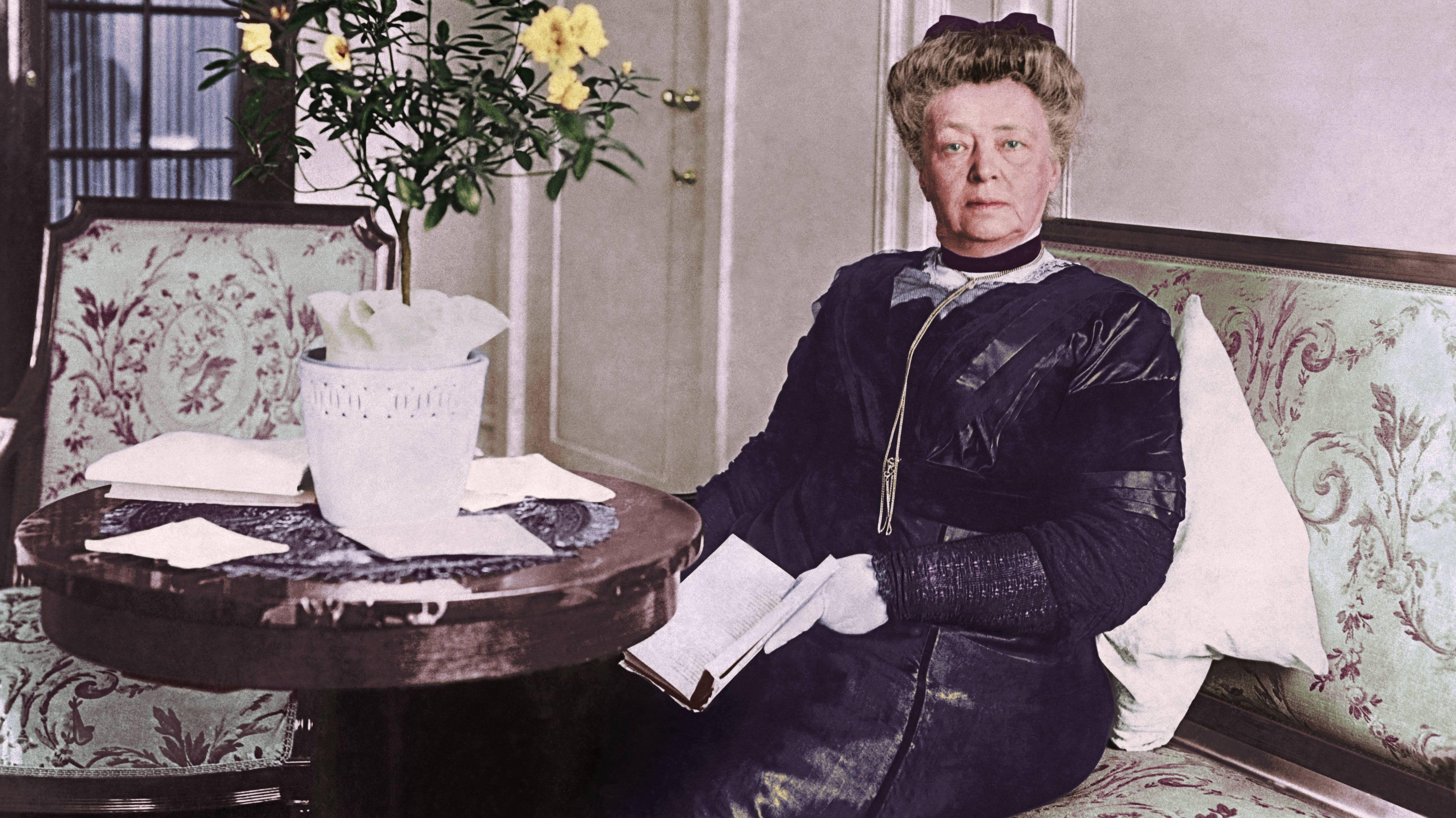 Bertha von Suttner / Foto um 1912
