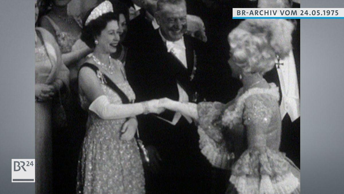 Königin Elizabeth II. in der Staatsoper