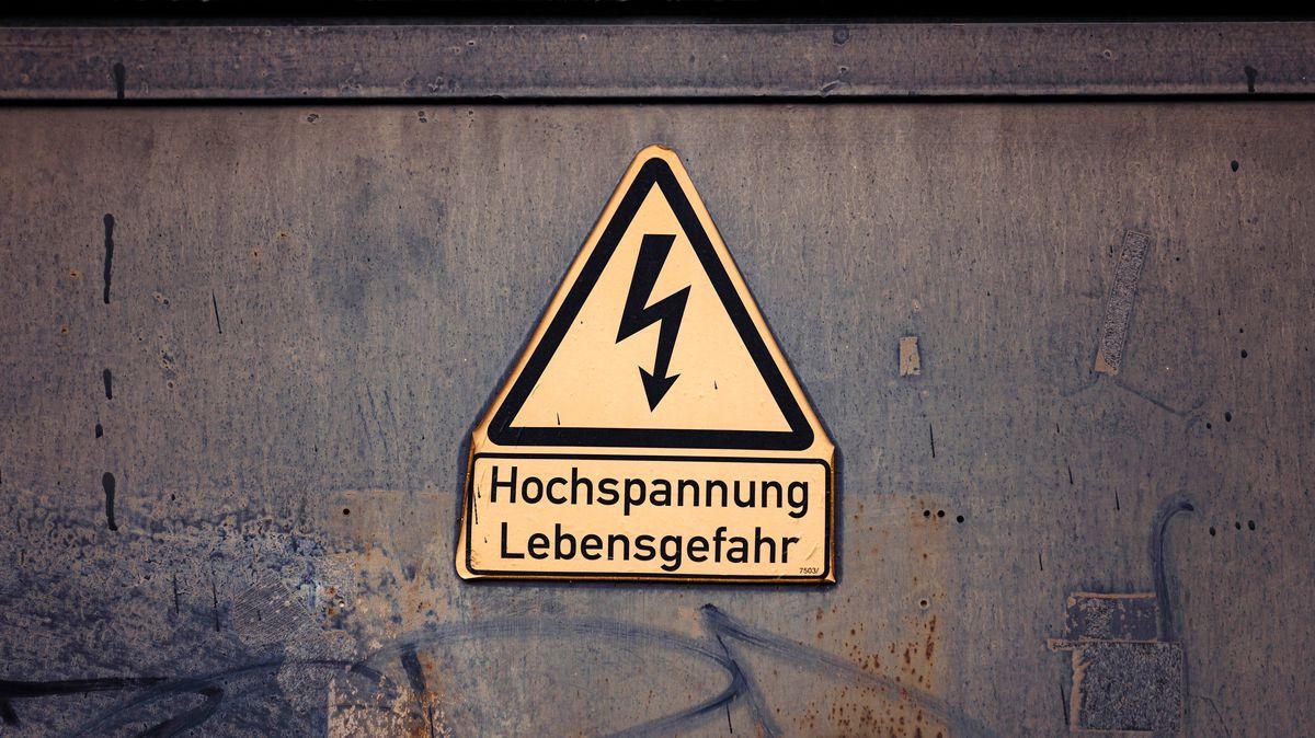 Symbolbild: Stromschlag