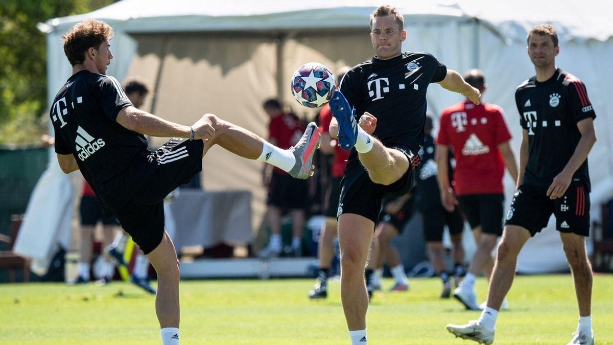 FC Bayern München - Trainingslager in Portugal