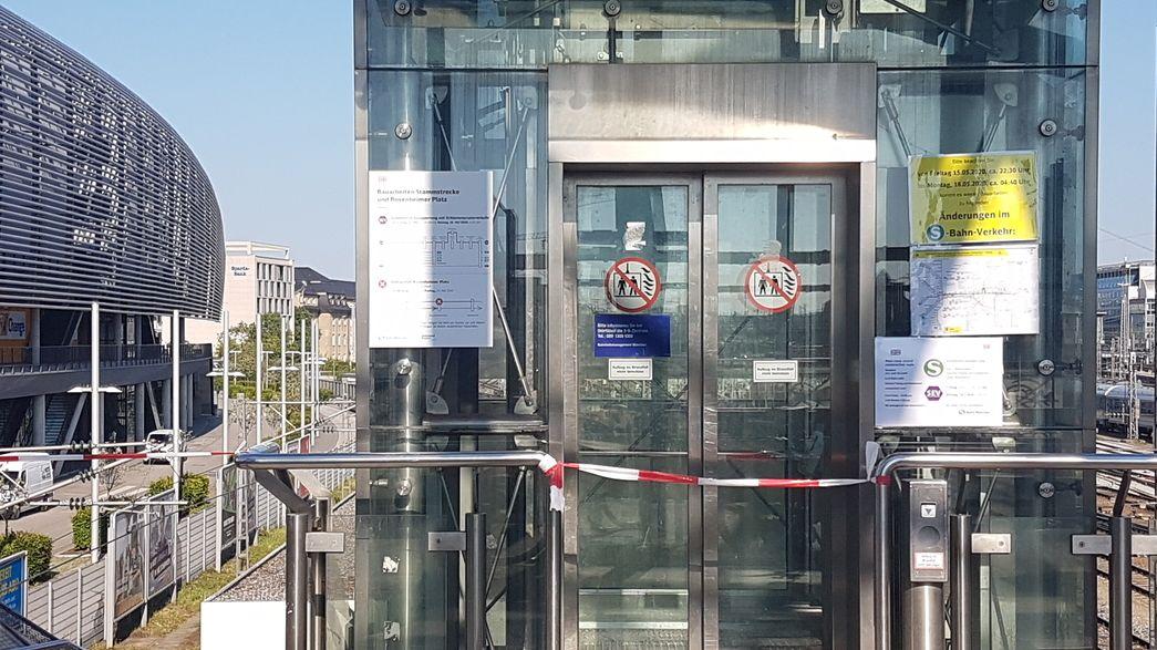 Sperrung der S-Bahn-Stammstrecke
