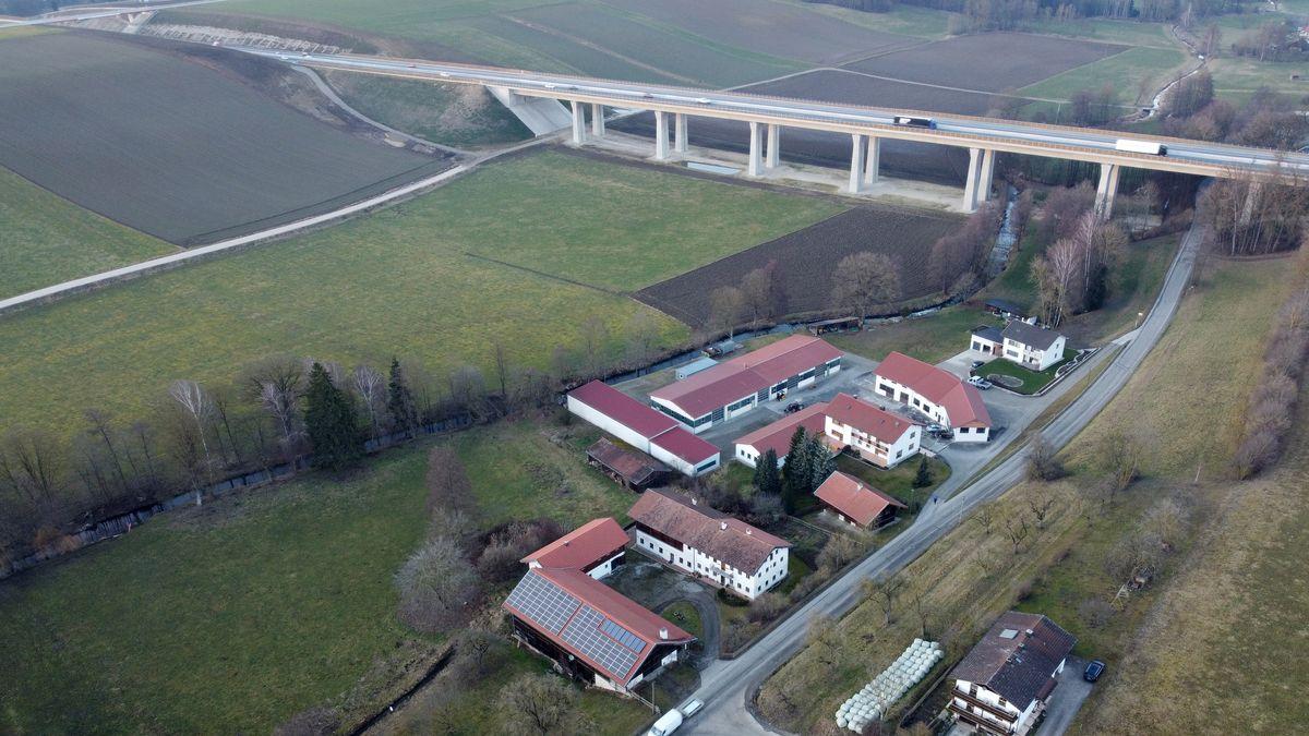 Jahrzehntelang gab es massiven Widerstand gegen den Bau der Isentalautobahn.