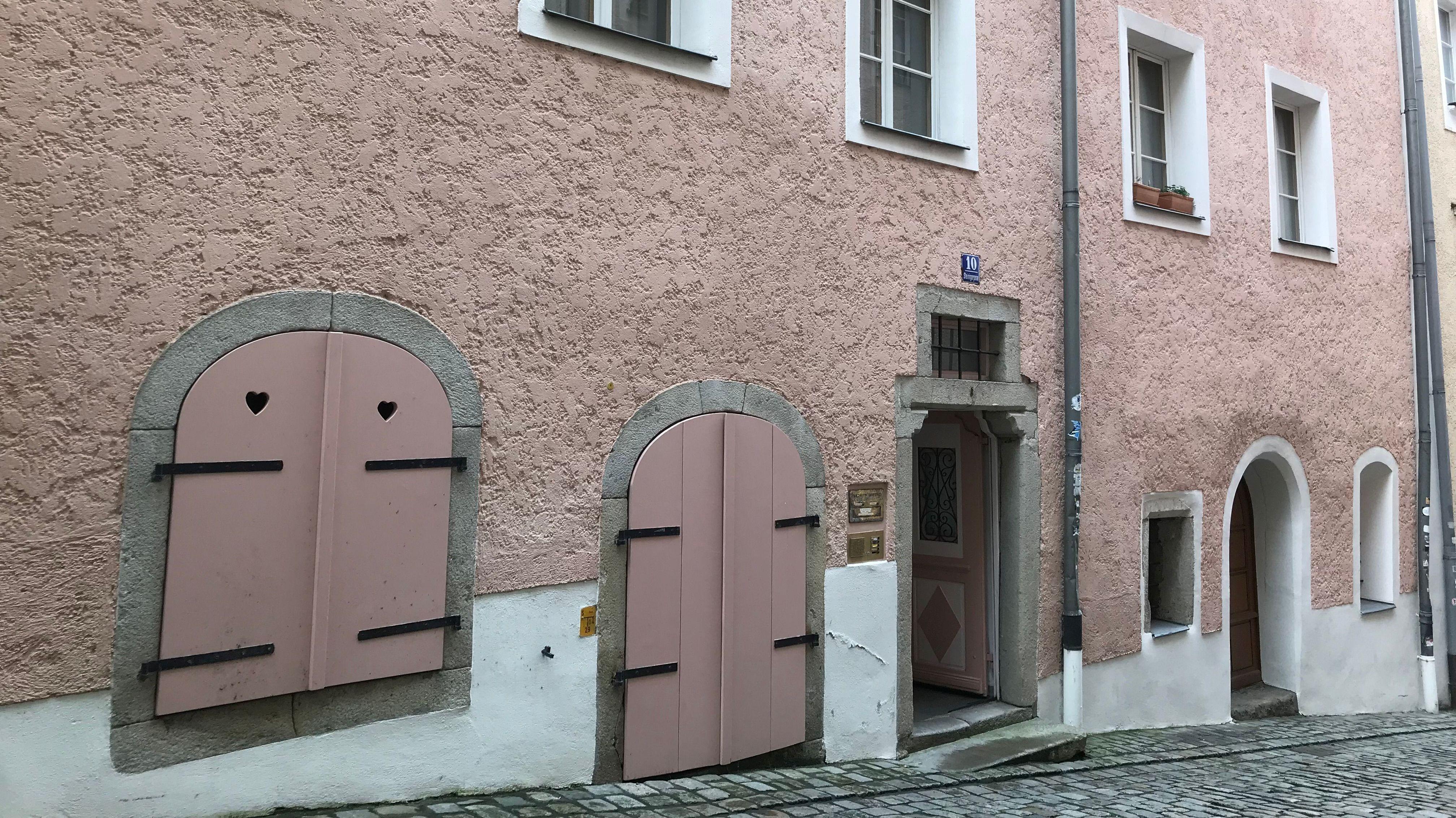 Das Haus in Passau, in dem sich der beißende Geruch ausbreitete