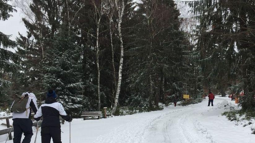 Besucher im Bayerischen Wald