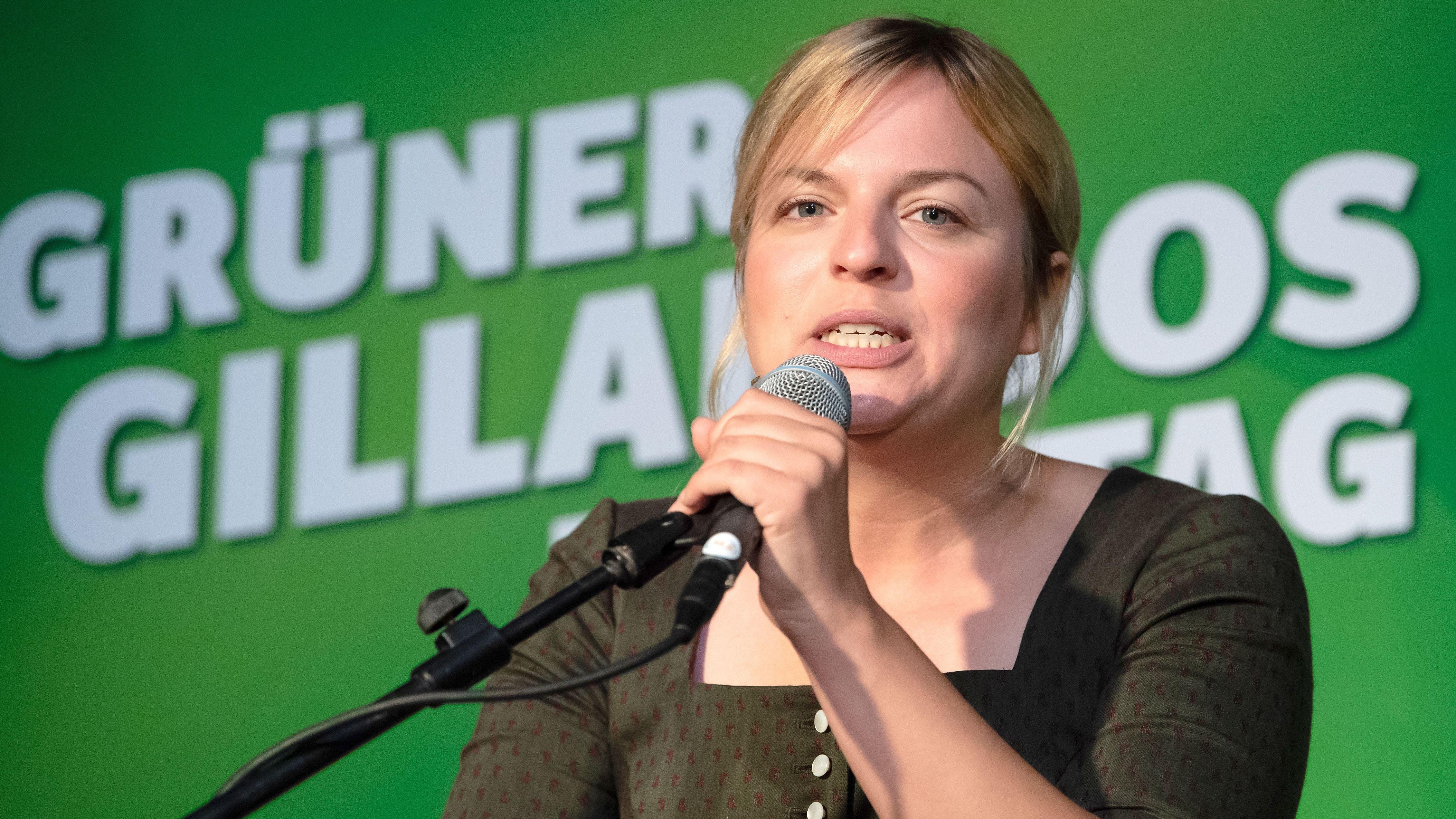 Katharina Schulze, Fraktionsvorsitzende von Bündnis 90/Die Grünen im bayerischen Landtag