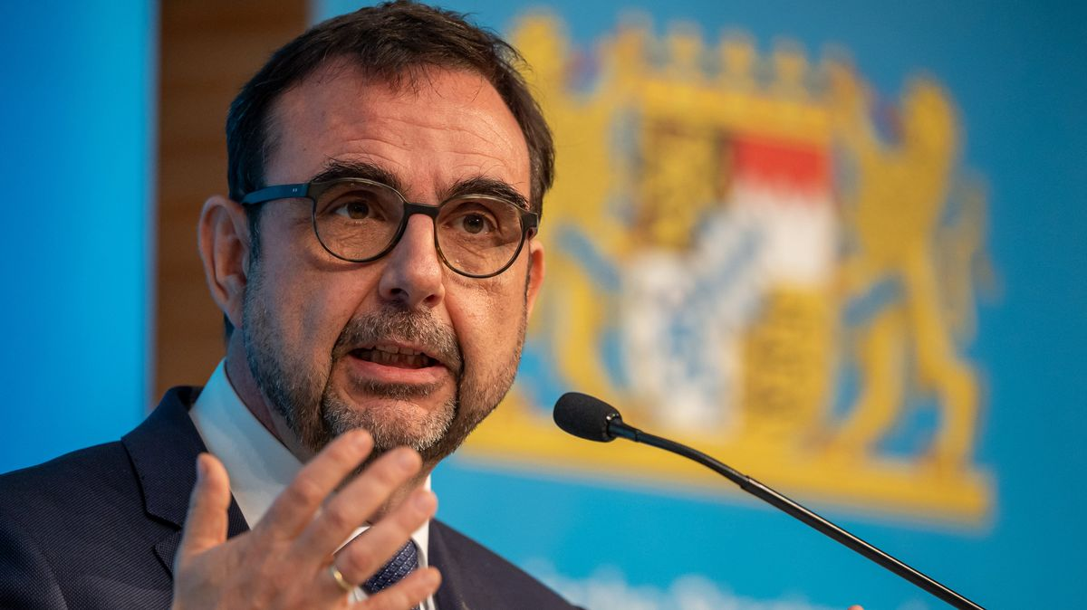 Gesundheitsminister Klaus Holetschek (CSU).