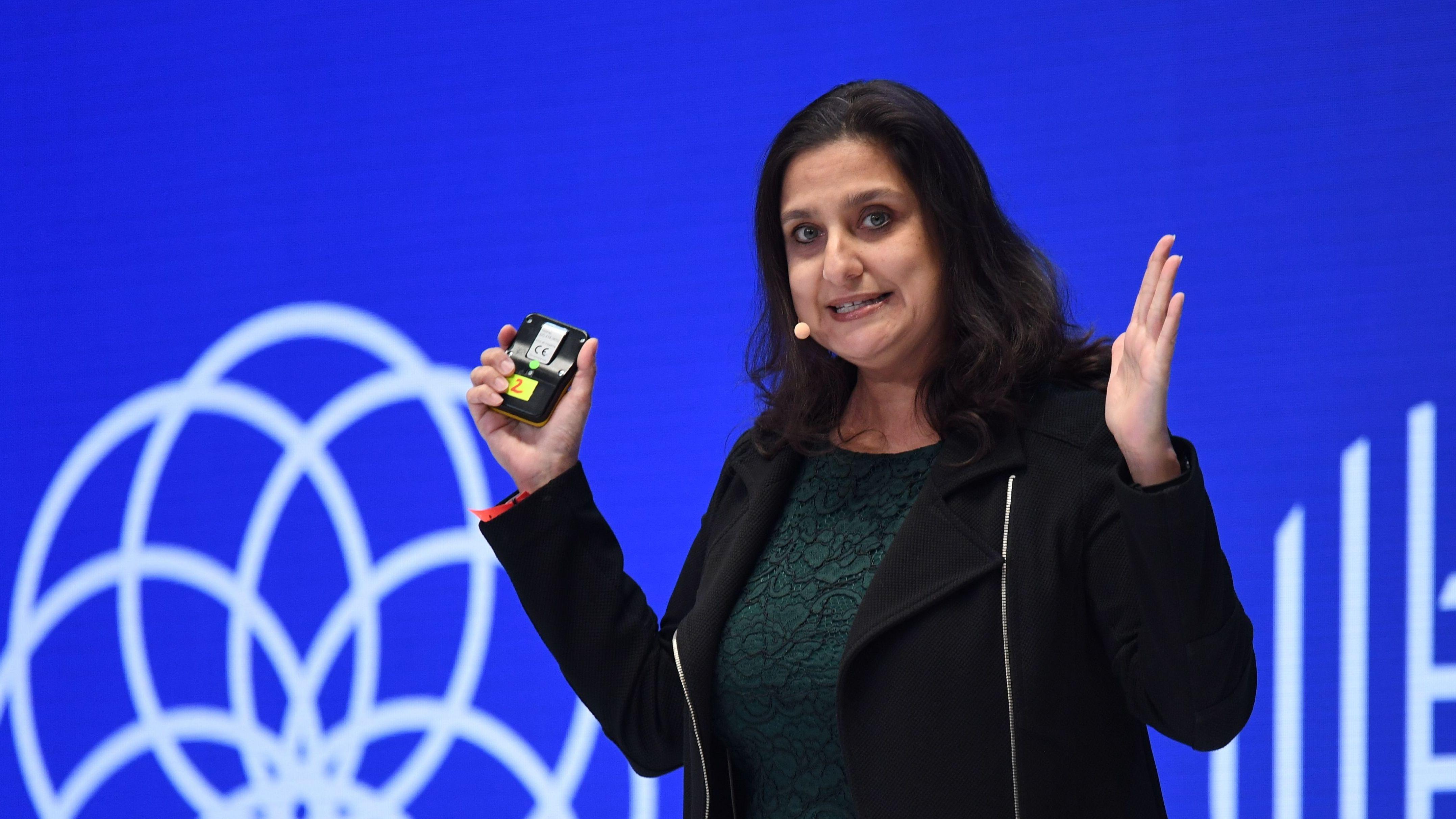 Divya Chander von der Singularity University auf der DLD Konferenz in München 2020