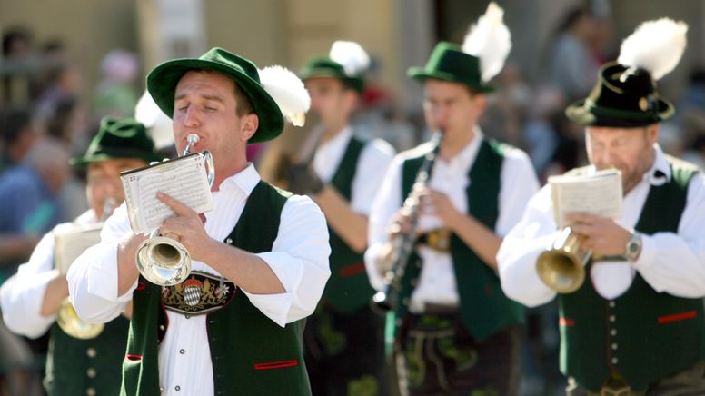 Wann dürfen Laienmusiker wieder wie früher auftreten? (Archivbild) | Bild:picture-alliance/ dpa | Frank Leonhardt