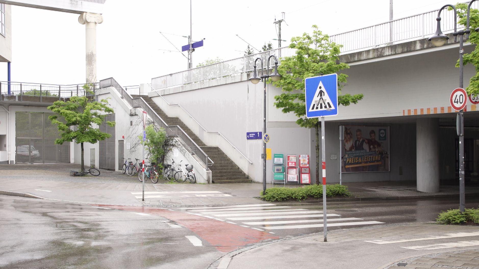 Die Unterführung am S-Bahnhof Germering-Unterpfaffenhofen