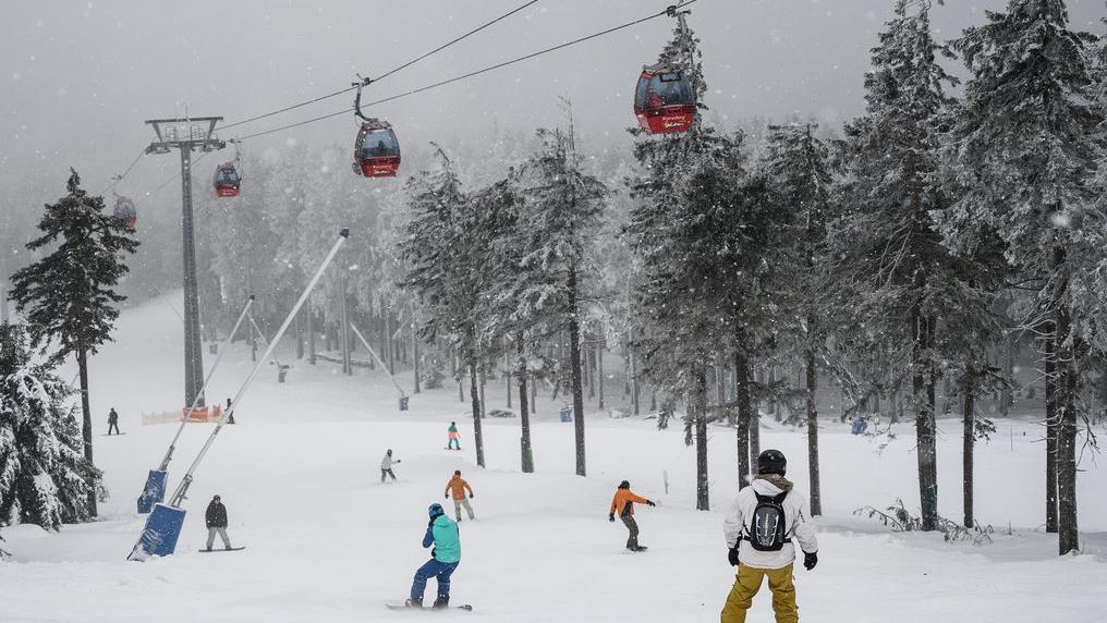 Symbolbild - Wintersport in diesen Tagen macht Spaß, nicht nur in Bayern. Hier eine Aufnahme aus dem Harz.