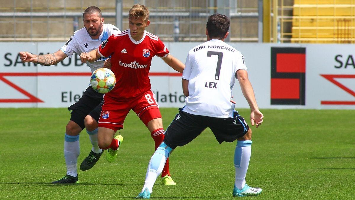 Spielszene TSV 1860 München - SpVgg Unterhaching