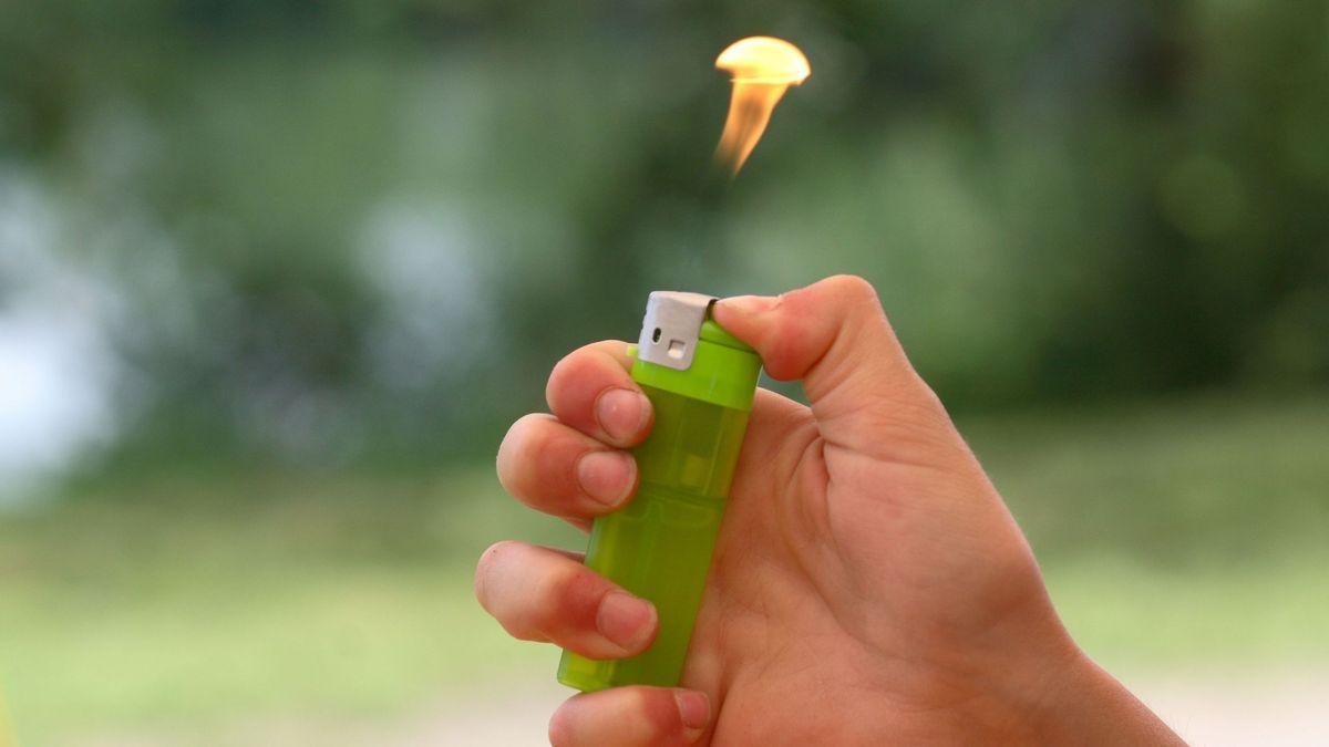 Bild von Feuerzeug