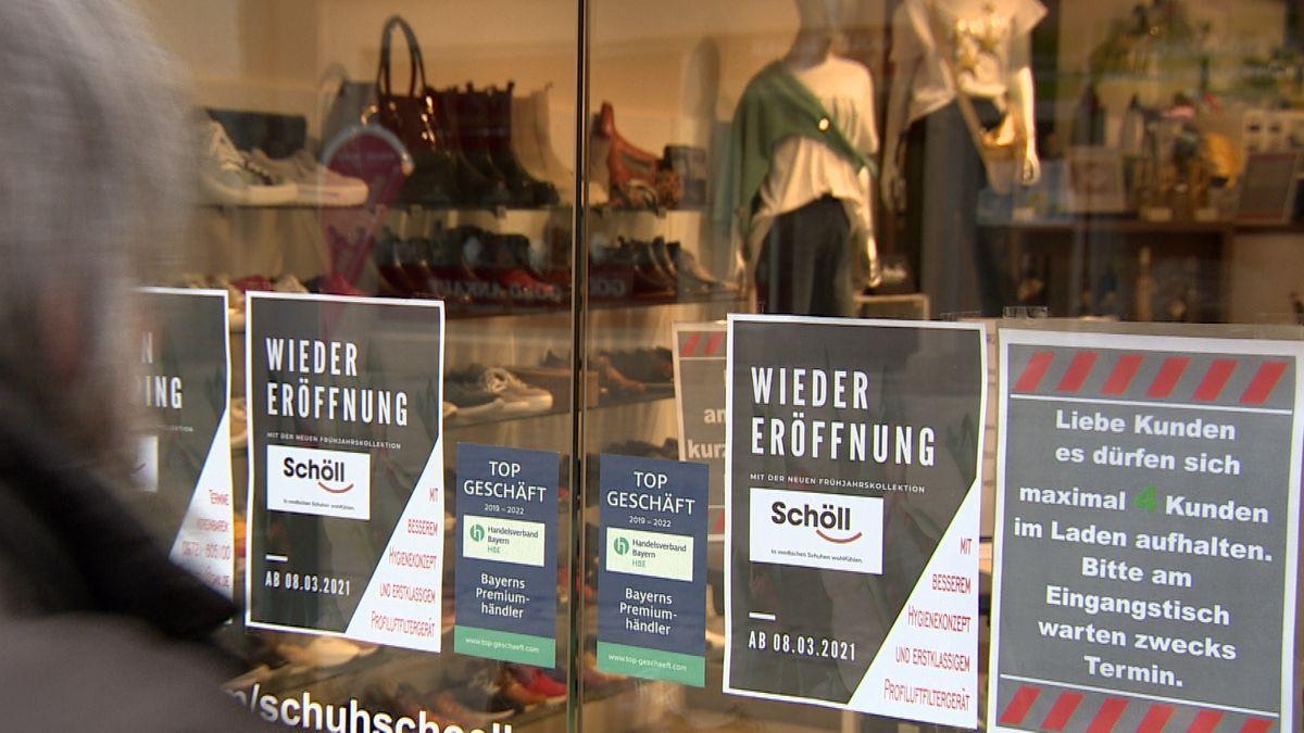 Ladentür in Schweinfurt