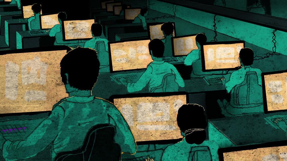 Hacker im Staatsauftrag: Angriff auf das Herz der deutschen Industrie   Bild:Bildcopyright