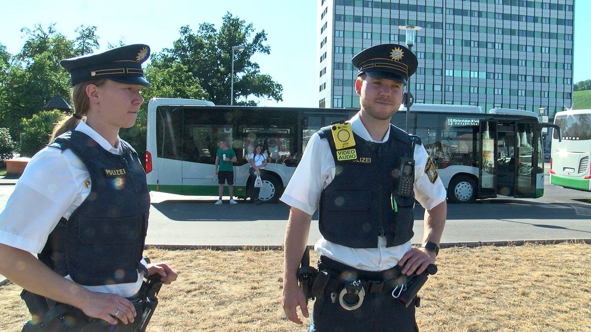 Würzburger Polizei sucht das Gespräch am Hauptbahnhof