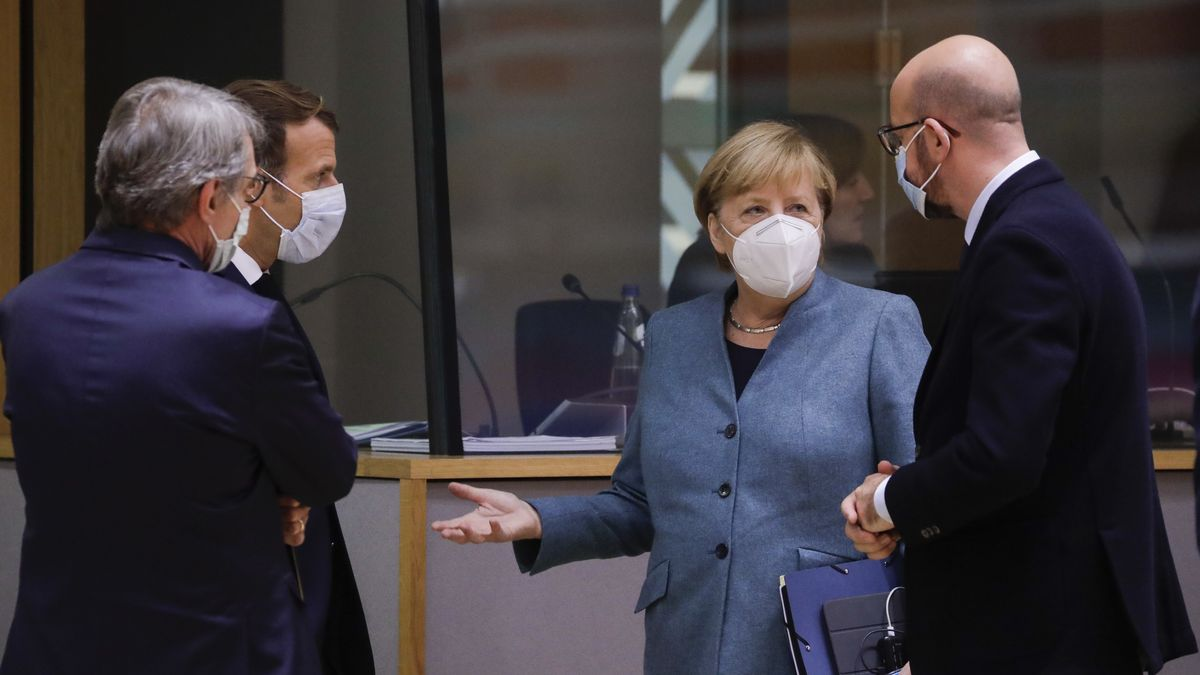 Merkel beim EU-Gipfel