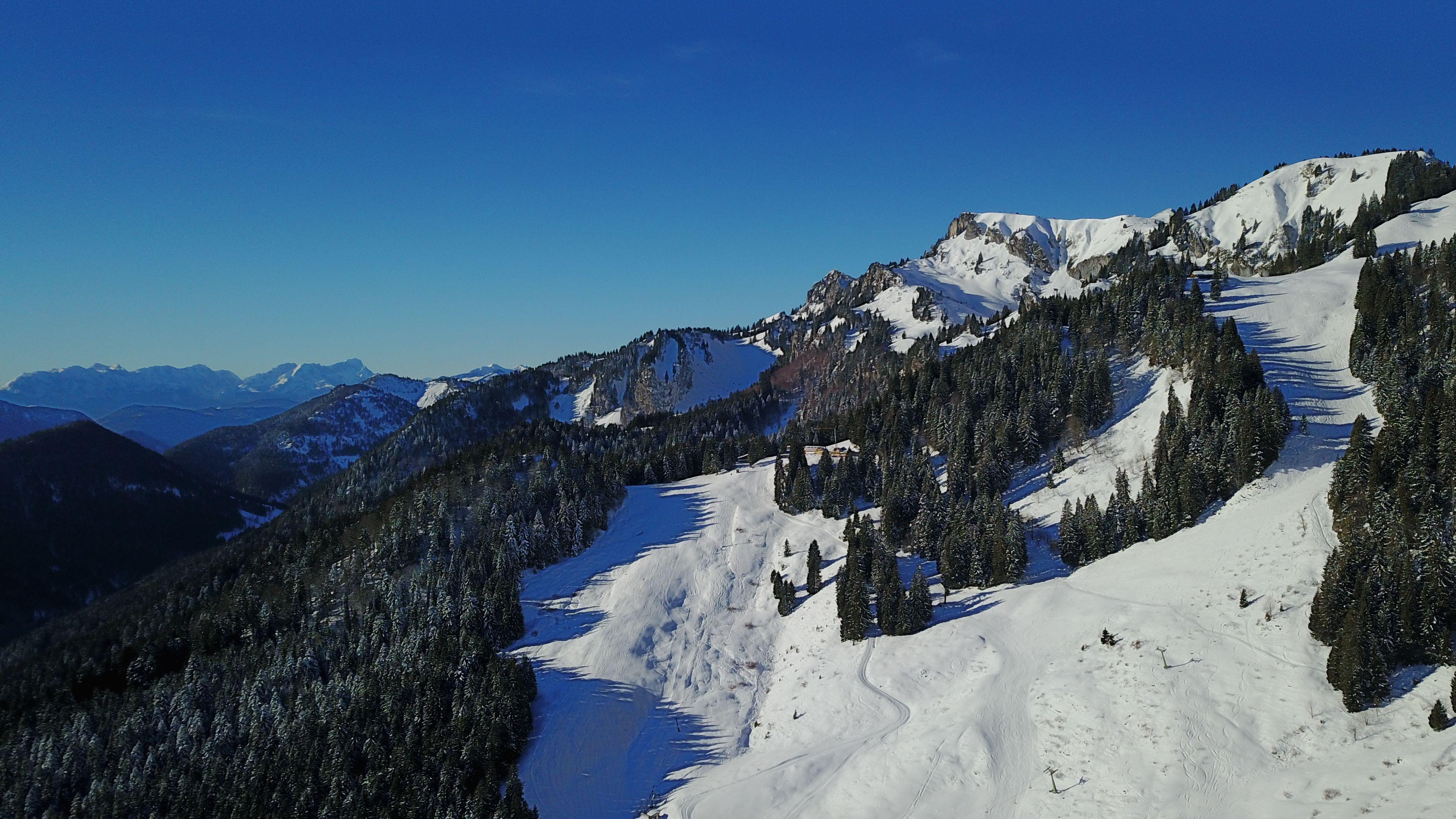 Brauneck im Winter - Symbolbild
