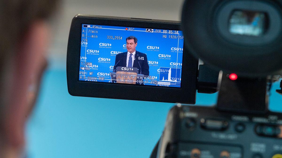 Archivbild: Bayerns Ministerpräsident und CSU-Chef Markus Söder
