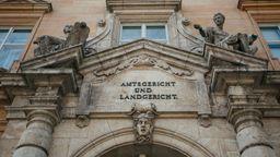 Fassade des Landgerichts Regensburg | Bild:BR/Julia Müller
