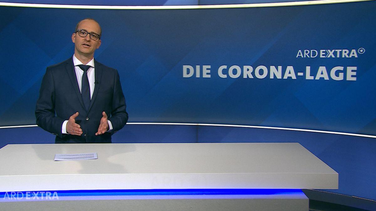 ARD extra zur Corona-Lage in Deutschland.