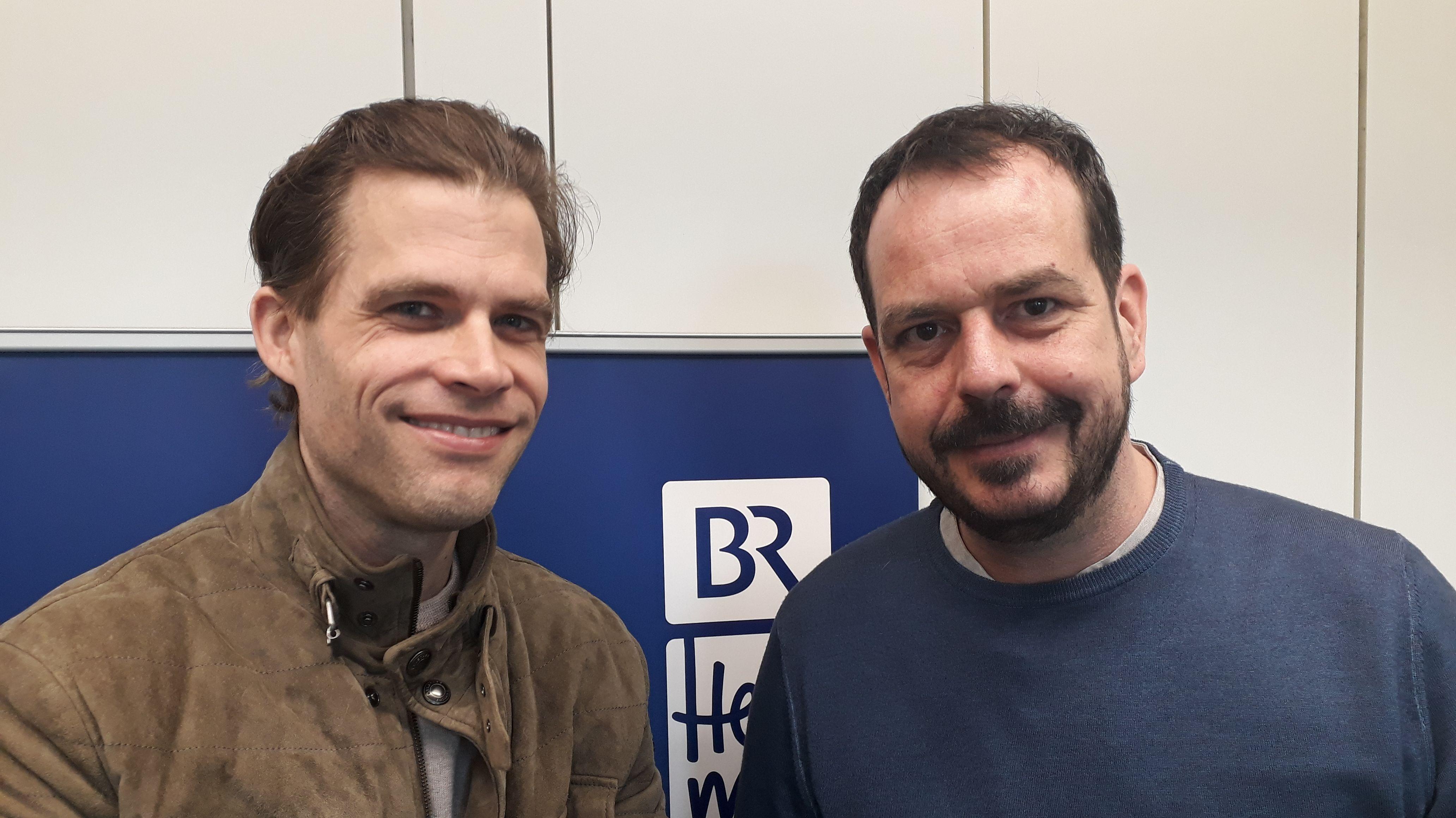 v.l.: Bas Kast, Jochen Wobser